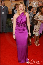 Actress Kim Cattrall attends the 10th Annual Screen Actors Guild Awards