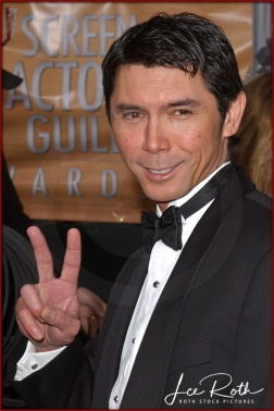 Actor Lou Diamond Phillips attends the 10th Annual Screen Actors Guild Awards