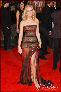 Actress Maria Bello attends the 10th Annual Screen Actors Guild Awards