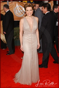 Actress Mariska Hargitay attends the 10th Annual Screen Actors Guild Awards