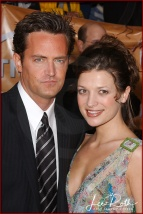 (L-R) Actor Matthew Perry and Actress Rachel Dunn attend the 10th Annual Screen Actors Guild Awards