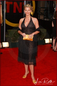 Actress Natasha Henstridge attends the 10th Annual Screen Actors Guild Awards