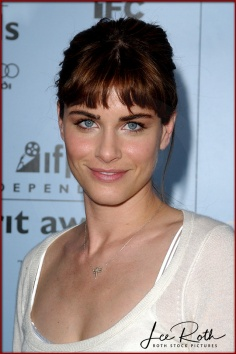 Actress Amanda Peet attends the 18th IFP Independent Spirit Awards