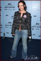 Actress Christina Ricci attends the 18th IFP Independent Spirit Awards