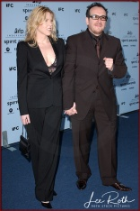 Musicians Diana Krall and Elvis Costello attend the 18th IFP Independent Spirit Awards