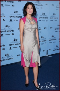 Actress Jacqueline Kim attends the 18th IFP Independent Spirit Awards