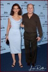 Actors Luciana Pedraza and Robert Duvall attend the 18th IFP Independent Spirit Awards