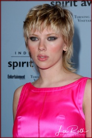 Actress Scarlett Johansson attends the 18th IFP Independent Spirit Awards